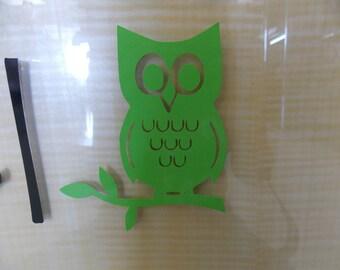 Cute Vinyl Owl Decal