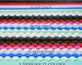 2 BUNDLE PACK - 6ft Photography Baseboards - Decorative Photography Baseboard Trim - 12 Colors