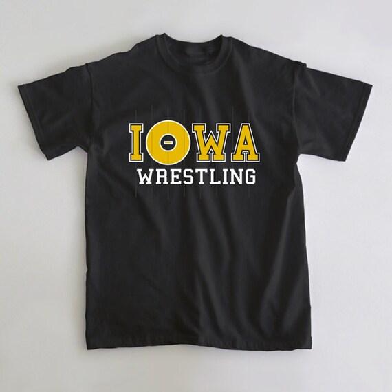 Items similar to iowa wrestling university of iowa t shirt for University of iowa shirts