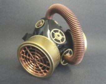Steampunk Respirator XI steampunk costume steampunk jewelry steampunk mask cosplay halloween