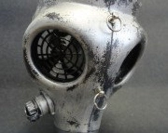 Silver Antique Gas Mask II