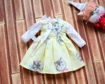 sweetteddy handmade dress for Neo blythe--blythe dress