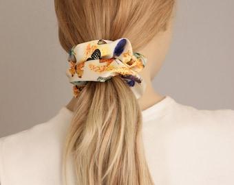 Scrunchie ,Hair Fabric Hair Accessory , BUY 3  piece  GET  1 scrunchie as gift