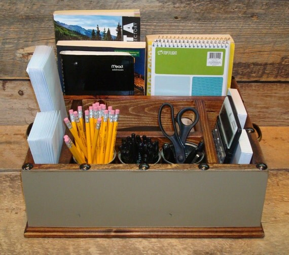 Desk Top Organizer For Work Collage Students Kids Desks