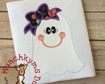 Ghost Bow Applique