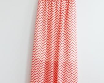 Clearance SALE Mint Aztec Maxi Dress Causal Maxi Dress Long Boho Maxi Dress Coral Aztec Maxi Dress