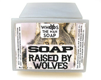 RAISED BY WOLVES Soap Handmade
