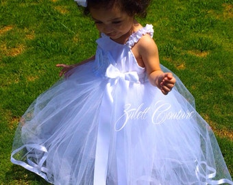Baptism Dress Tutu Dress