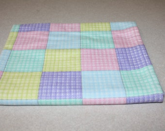 Soft flannel baby recieving blanket