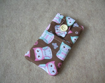 iPhone 5 Case, iPhone 4 Case, iPod Classic Case, Credit Card Holder, Clutch, Purse, Japanese Owls