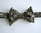 Geometric Men's Bow Tie, Little Black Dress