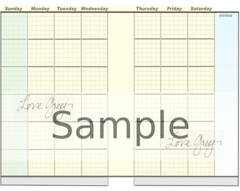 The Complete One-Glance planner refils