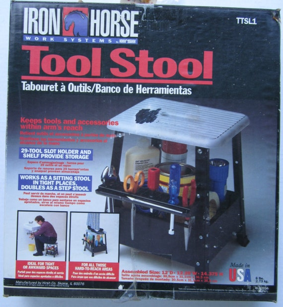 Iron Horse Work Systems Iron Horse Tool Stool Work Stool