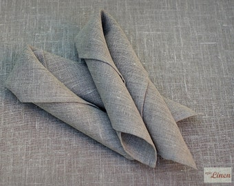 Pair of Natural Napkins Homey Home