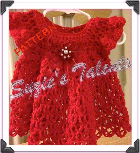 Christmas dress pattern baby dress pattern handmade dress christmas