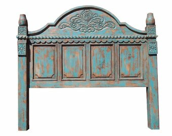 Turquoise Rustic Bed (2914)