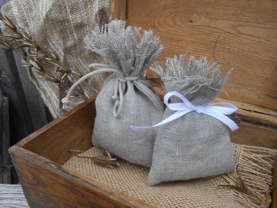Wedding Gift Bags Burlap : Wedding Favor Bags Burlap Favor Bag Gift Bag Rustic Linen Wedding Bag ...