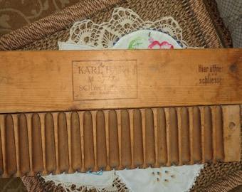 Antique Cigar Mold Karl Hart