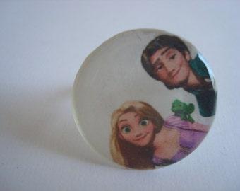 Tangled or Frozen Ring/Hair Pin