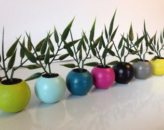 """READY TO SHIP 1:6 scale 1/8 scale Dollhouse Plant,dollhouse furniture 10""""-12.5"""" dolls"""