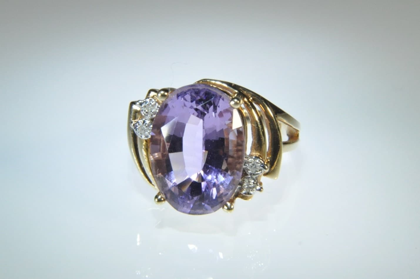 amethyst ring vintage - photo #18