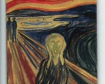 Norwegian artist,  Edvard Munch Magnet #REM1987 The Scream