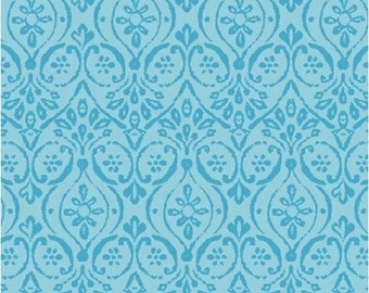 Windham Fabrics Two By Two 33576-2 Blue Damask Yardage