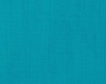 "45"" Turquoise Broadcloth Fabric - 20 Yard Bolt"