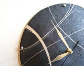 Modern wall clock Coastal...