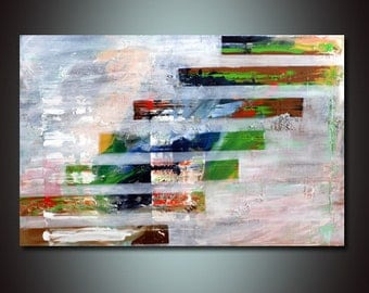 """Abstract painting, free shipping worldwide, Textured, Original painting, acrylic painting, landscape painting, 20""""x30"""""""