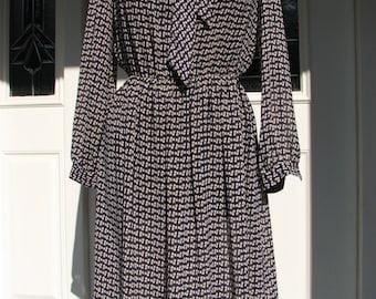 1960s Vintage Women's Dress - Size M dress