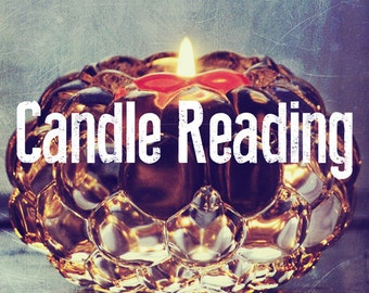 Psychic Reading, Channelling by Candlelight, Pyromancy on Any Question / Situation - Experienced Professional Psychic Medium - File Download