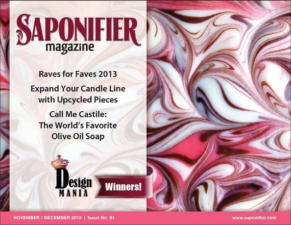 Saponifier: Nov/Dec 2013