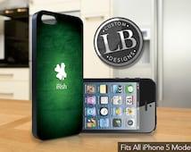 iPhone 5 / 5c / 5s Case  - iRish St Patrick's Day - Saint Patrick's Day Cover iP5