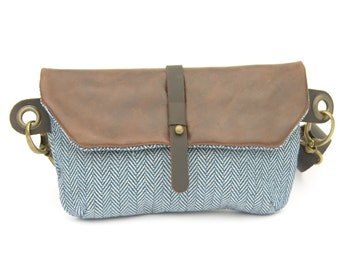 Hip Bag - Fanny Pack - Traveler Bag - Utility Hip Belt - Hip Pouch