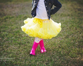 Yellow Pettiskirt XS (6-12M)