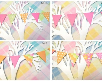 Paper Bunting Flags - Decorations
