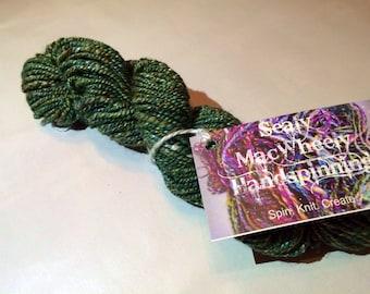 Peppercorn Dream - Hand-Spun Silk & Merino Yarn