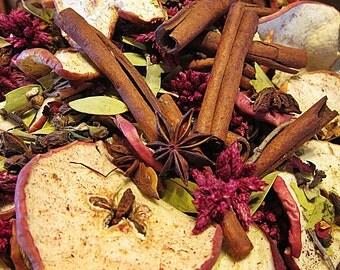 Potpourri JULIAN APPLE PIE Handcrafted Botanical Potpourri Pint