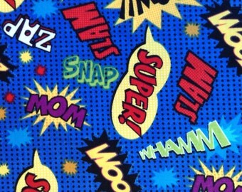 Half Yard of Fabric - Action Words