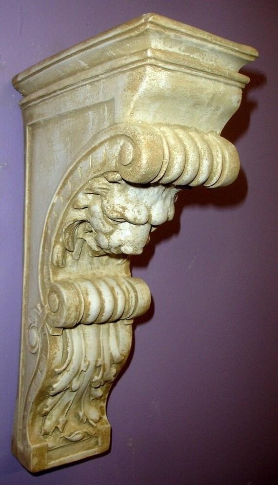 15 Lion Sconce Sculpture Bracket Home Decor Pair