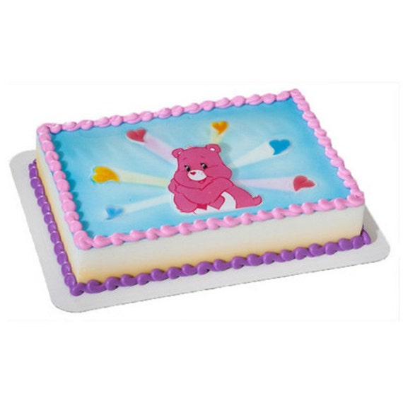 Care Bears Cake Decorations Submited Images
