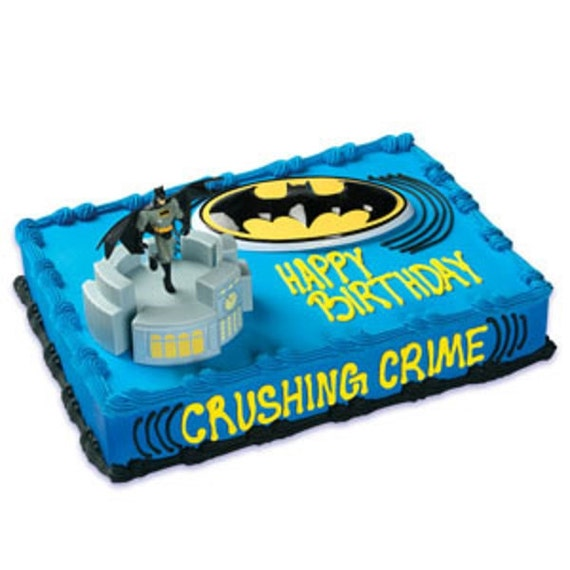 Batman Glider Cake Decorating Kit Topper