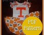 Initial Tees T-Shirt PDF Sewing Pattern Digital Download