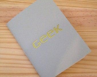 Geek Laser Cut Mini Journal