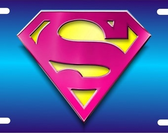Stupendous image with supergirl logo printable