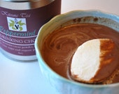 Peppermint ~ Dark hot drinking chocolate made with 100% organic ingredients 6oz tin