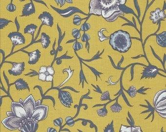 Dutch Chintz  - Wilhelmina Yellow Mauve FQ