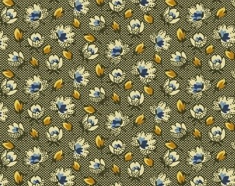 Romantic Renaissance - Blue Buds - 1/2yd