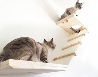 Double Decker - Cat Shelves